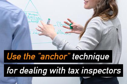 税務調査官への対応テクニック「アンカー」を使おう_eyecatch